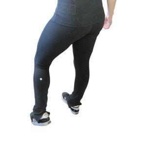 Lululemon Black Wunder Under Pants Size 2